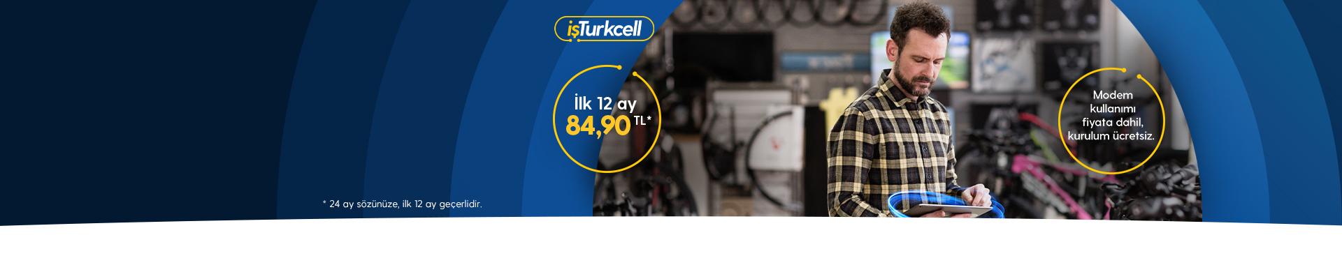 Limitsiz fiber internet Turkcell'de!