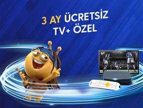 3 Ay Ücretsiz TV+ Özel Kampanyası