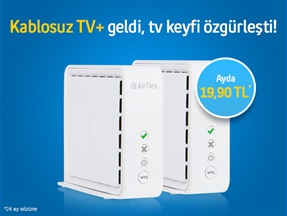 Kablosuz TV+ Kampanyası
