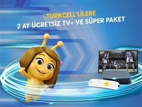 Turkcell'lilere 2 Ay Ücretsiz TV+ ve Süper Paket Kampanyası