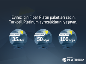 Turkcell Fiber Platin Paketler Mevcut Müşteri Kampanyası