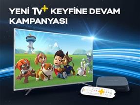 Yeni TV+ Keyfine Devam Kampanyası
