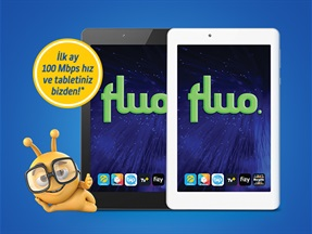 Fluo Jazz ADSL/Yalın ADSL Tablet Kampanyası