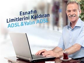 Esnafın Limitlerini Kaldıran Hızlı İnternet Yalın ADSL/ADSL Kampanyası